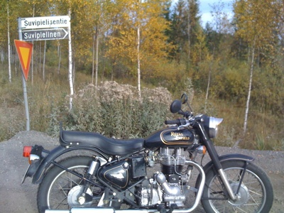 Royal Enfield - the ultimate geohashing machine