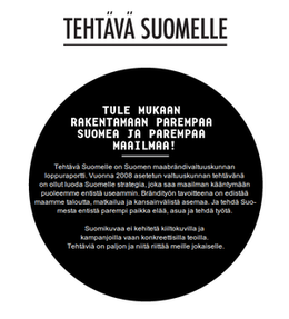 cover image for Finland's brand strategy builds on the ideas of free software