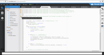 cover image for Trying out Cloud9IDE: Developing software in your browser