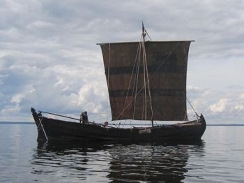 cover image for Sown Viking ship's trip report