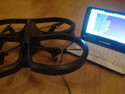 cover image for Flying a Quadrocopter with NoFlo
