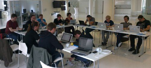 cover image for Create.js hackathon in Berlin