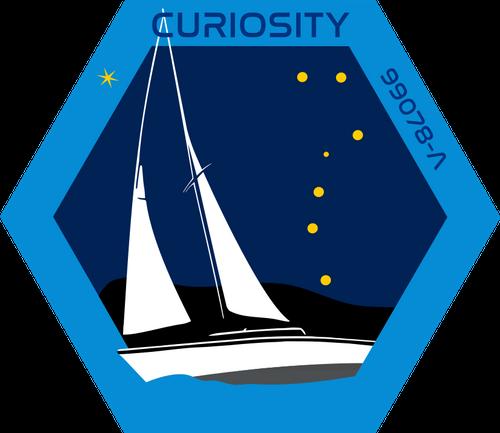 Curiosity Crew Badge
