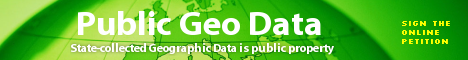 cover image for We need public access to Geodata in Europe