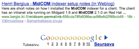 cover image for Google indexes PermaLinks?