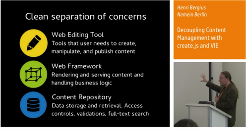 cover image for Video: Decoupling Content Management