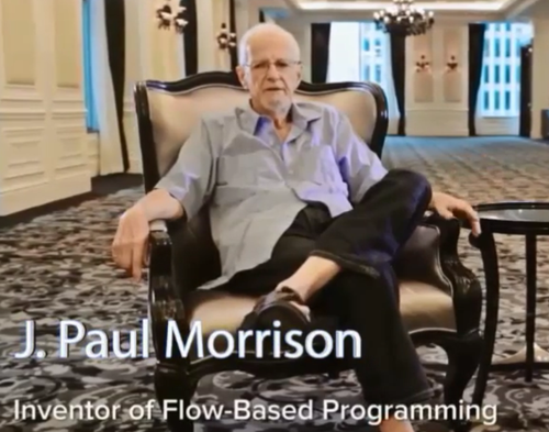 cover image for Interview with J. Paul Morrison, the father of Flow-Based Programming