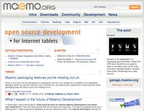 cover image for Maemo.org goes Ragnaroek