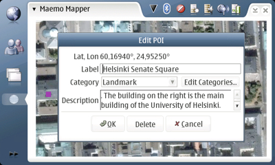 cover image for Maemo Mapper, OpenStreetMap and Wikipedia