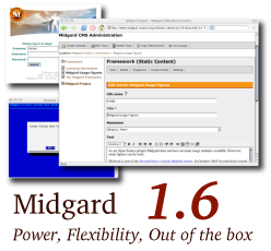 cover image for Midgard 1.6: Power, Flexibility, Out of the box