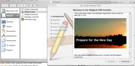 cover image for Midgard on OS X is rolling
