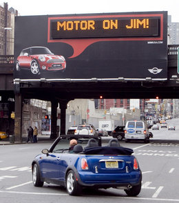 cover image for Personalized street advertisements