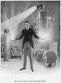 cover image for Podcast on Nikola Tesla