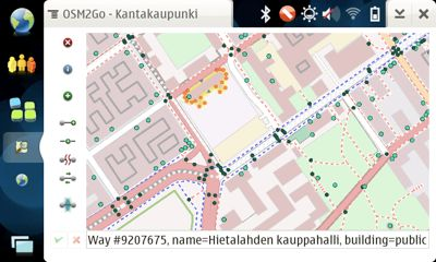 cover image for OSM2Go: wonderful mapping tool for Maemo