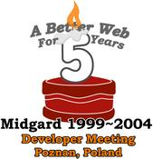 cover image for Midgard's 5th Anniversary - A Better Web for 5 Years
