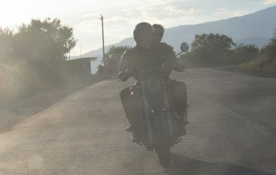 cover image for On to new motorcycle adventures