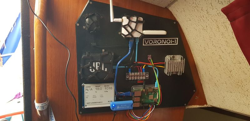 The Voronoi-1 onboard computer