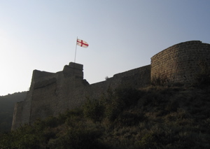 Fortress in the Mtskheta valley