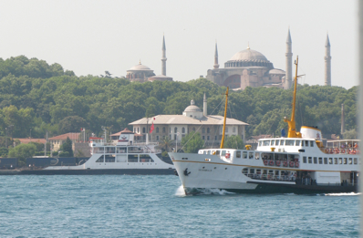 Hagia Sophia from the ferry