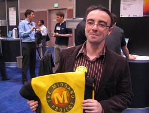 Happy owner of a Midgard bag