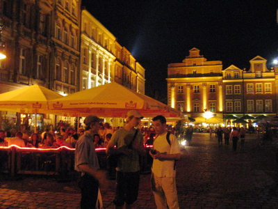 Exploring Poznan's night life