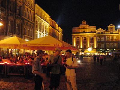 Exploring Poznan's night life