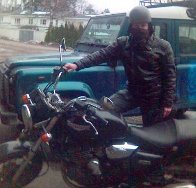 Bergie and the Trusty Triumph