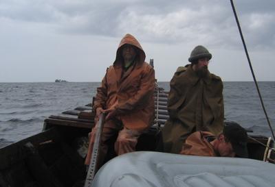 Sailing in rain