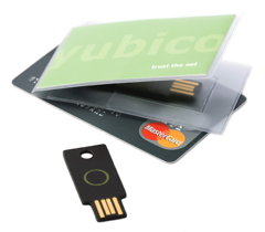 Yubikey and a credit card