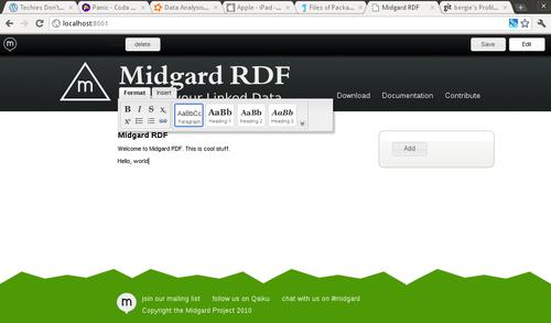 Create UI on MeeGo netbook