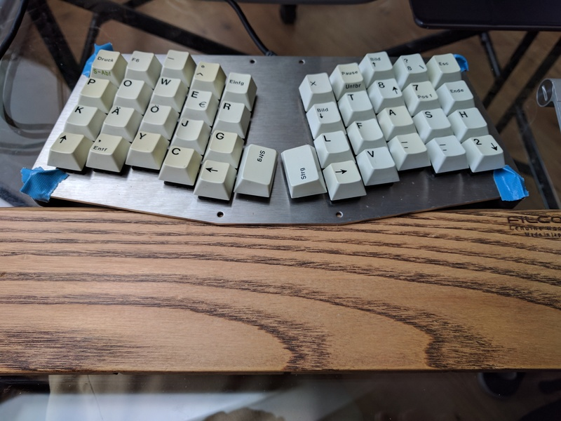 Atreus in use