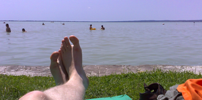 Bergie Resting At Lake Balaton-1