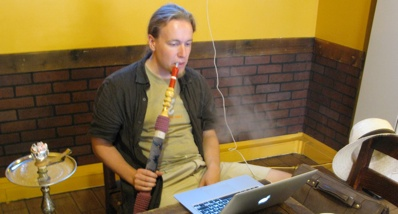 Webworking in Miscafe, Besiktas
