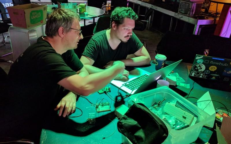 Building sensors