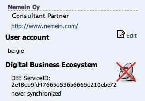 Person's account status in OpenPsa