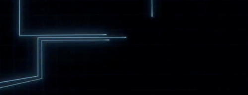 Tron: Legacy opening titles