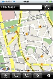 FON network map for Etu-Töölö, Helsinki, Finland