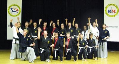 Helsinki Haedong Kumdo seminar 2008 participants