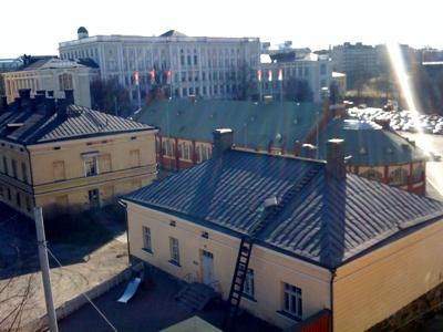 View from the Hietalahti office