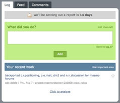 ididwork.com reporting interface
