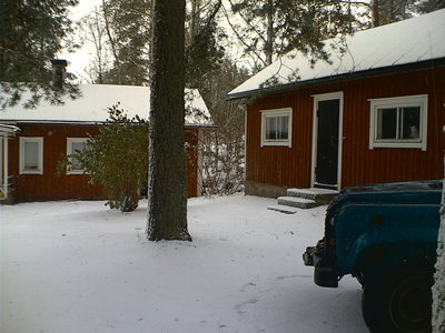 Ingels covered in early snow