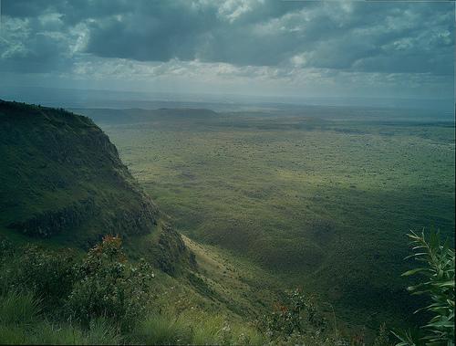 Menengai crater, on N900