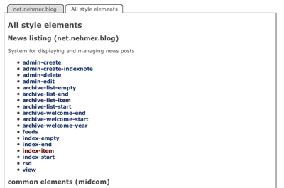 Midcom-Styleeditor-Element-List-All
