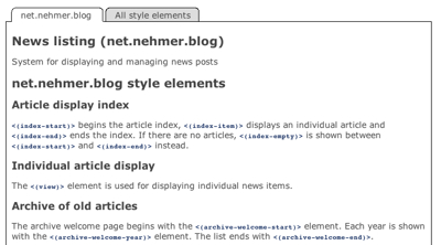 Midcom-Styleeditor-Element-List