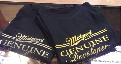 Midgard Genuine Developer shirts