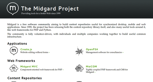 Midgard Project in 2012