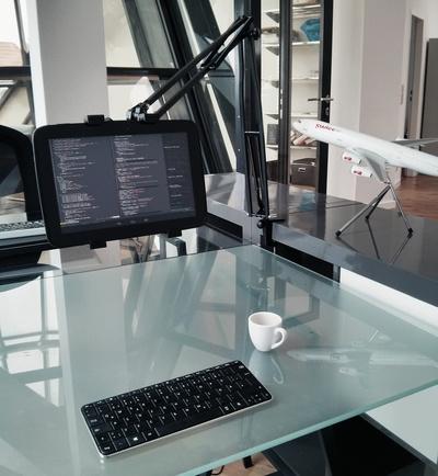Nexus 10 as a programming workstation