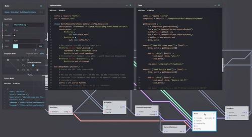 Editing code in the NoFlo UI