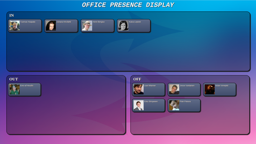 Office Presence Display