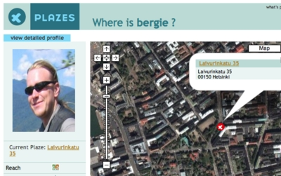 Where is Bergie?